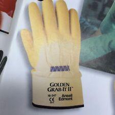 Razor Ribbon Gloves / Golden Grab-It Gloves / Ansell
