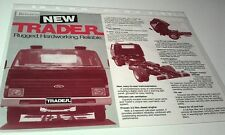 1982 ? FORD TRADER TRUCK  Malaysia Sales Leaflet - RARE