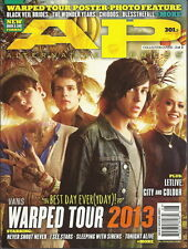Warped Tour Alternative Press AP Aug 2013 #301 Best Day Ever City and Colour