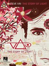 Steve Vai The Story Of Light VELORUM Creamsicle Sunset Guitar tab Music Book new