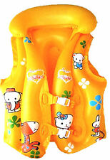 Friendly Zoo Animal's Yellow  Swim Vest,  For  5-9 Year olds, New