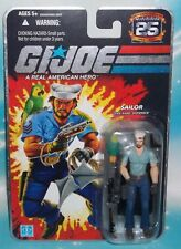 G I GI JOE 25TH ANNIVERSARY SERIES SAILOR SHIPWRECK FIGURE W/ ANCHOR TATTOO