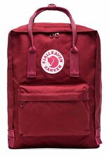 New Women Men Fjallraven Kanken 23510 Classic Backpack (#326 Ox Red)