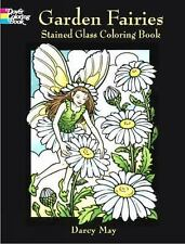Dover Stained Glass Coloring Book: Garden Fairies Stained Glass Coloring Book...