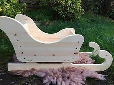 Christmas Sledge Newborn Photo Prop Baby Posing Sleigh