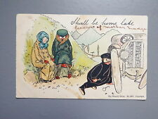 R&L Postcard: Comic, Early Motoring 1903, Vintage Car, Automobilia Wrench Series