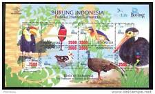 Indonesia 2009 Birds BirdLife International M/S MNH