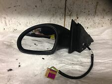 2006 bxw 1.4 16V SEAT IBIZA BLACK PASSENGER WING MIRROR ELECTRIC