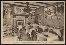 cartolina TORINO taverna dantesca-particolare salone trecentesco