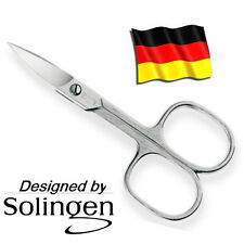Professional Manicure Pedicure Nail Scissors designed by SOLINGEN 90mm nickel