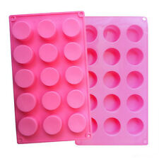 Cylinder Silicone Cake Chocolate Mould Ice Tray Candy Cookies jelly Baking Mold