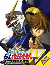 ANIME UK Based MOBILE SUIT GUNDAM WING Full TV Series + Movie (English Dub) DVD