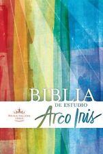 RVR 1960 Biblia de Estudio Arco Iris, multicolor, tapa dura (Spanish Edition)