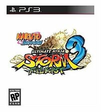 NEW Naruto Shippuden: Ultimate Ninja Storm 3 Full Burst Sony Playstation 3, 2013