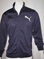 Puma men's tricot contrast track jacket size xl   NEW