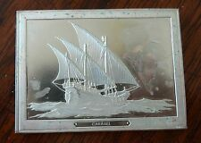 Franklin Mint Great Sailing Ships of History Sterling Ingot Caravel