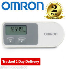Omron 3D Walking Style Pedometer Step Counter with Accelerometer Sensor HJ-320