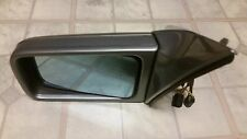 1992-1995 Mercedes S500 Driver Side MIRROR in Silver