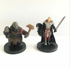 Prototype Dungeons & Dragons Miniature Duergar Slaver C & Karsite Fighter HA213