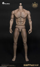 World Box Model 1/6 Scale Durable Male Body Wolverine Muscular Doll F HT Head