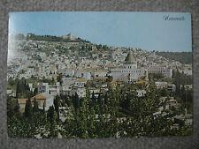 Israel Nazareth - Stadt mit Verkündigungskirche - gebraucht 1981