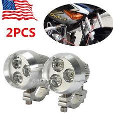 2PCS 9W Mini LED Spot Fog Lamp Light For Suzuki Boulevard M109R M50 C90