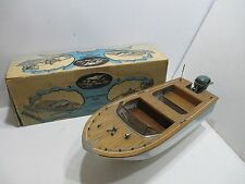 FLEETLINE DOLPHIN VAGABOND WITH EVENRUDE OUTBOARD MOTOR IN BOX EXCELLENT BOXED