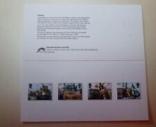 GB 1981 sellos de menta paquete de presentación de pesca Harrison ver SG1166-1169 # 2111+