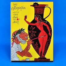 Das Magazin 3/1959 | Akt Erotik Werbung | DDR Geburtstag Zeitschrift Zeitung