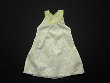 GYMBOREE GREEK ISLE STYLE GREEN HALTER GIRLS DRESS SZ 4