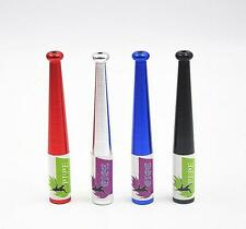 1Pc Metal Color Random Smoking Pipe Portable Long Cigarette Tobacco Baseball Bat