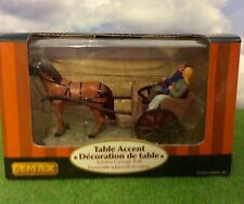 Lemax Village AUTUMN CARRIAGE RIDE #53521 Table Accent, Retired