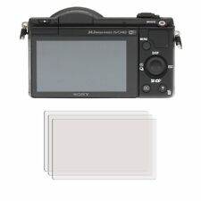 3 x Clear LCD Screen Protector Film Foil Saver For Sony Alpha 5100 (DSLR-A5100)