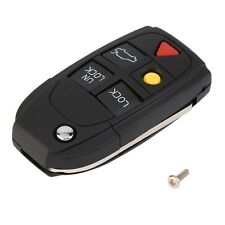 5 Button Remote Case Fob Flip Key Shell fit for VOLVO S60 S80 V70 XC70 XC90 AO