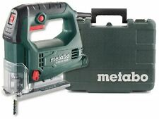 METABO 450W ELECTRIC 240v PENDULUM JIGSAW CUTTING SAW IN CASE & 2 BLADES STEB65Q