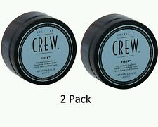 2pk American Crew Fiber - High Hold Low Shine 3oz Men Strong Wax Paste