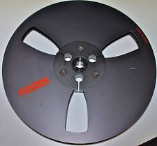 "Fostex Seven inch Black Take-up Reel Clean Condition. Vintage 7"" Original Used"