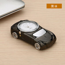 Black Multifunctional Windproof Cigarette Lighter Sports Car Quartz Watch