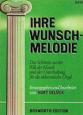 IHRE WUNSCH-MELODIE- pour orgue electronique- Band 3