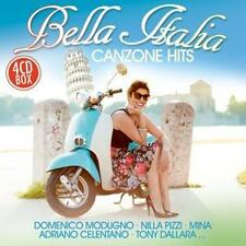 CD Bella Italia Canzone Hits von Various Artists  4CDs