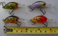 4 floating minnows brand new fishing lures for bream,whiting,flathead,3cm long