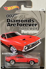 HOT WHEELS 2015  007 - DIAMONDS ARE FOREVER - '71 MUSTANG MACH 1