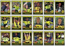 Borussia Dortmund European Champions League winners 1997 football trading cards