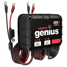 NOCO Genius GEN2 20A Onboard Battery Charger - 2 Bank [GEN2]