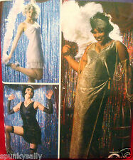 Simplicity 5400 FLAPPER CHICAGO ROXY VELMA MAMA sz 14-20 Costume Sewing Pattern