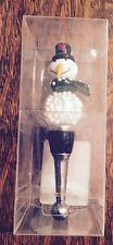 Snowman Globe Christmas Glass Wine Bottle Stopper New!!!Fun Unique Gift/Home