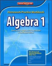 Merrill Algebra 2: Algebra 1, Homework Practice Workbook by McGraw-Hill Staff...