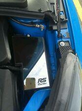 Ford Focus mk2 y mk3 RS Turbo De Acero Inoxidable Pulido Caja de Fusible Cubierta De Cromo