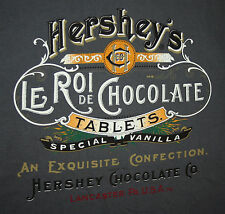 Hershey's Le Roi De Chocolate Lancaster PA Gray Polo Shirt New NOS 2010 Tags MD