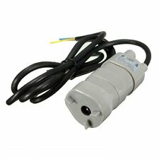 5M High Head DC Water Pump Submersible Motor 14L/Min 840L/H 6-15V DC12V 1.2A